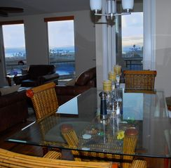 Oceanside condo photo - Dining Room with great views.