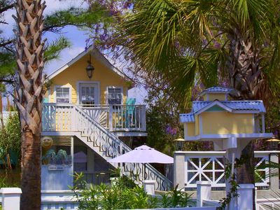 Seagrove Beach house rental - The Storybook Continues: w/ Our Cute 'Treetop' Playhouse!