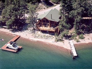 Bigfork cabin rental - View from Above