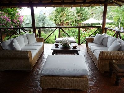 Our relaxing indoor terrace