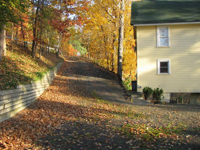 Hammondsport house rental - offroad access/parking