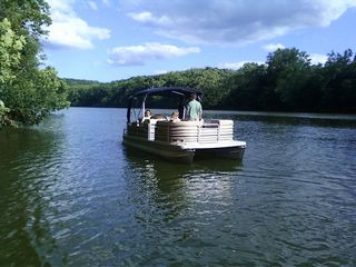 Front Royal house photo - Pontoon rental is available for guests-inquire about restrictions and price