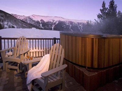 Private Spa Deck - With Mountain Views