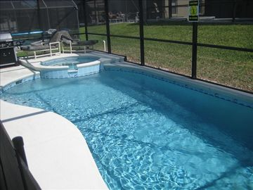 Indian Creek house rental - Private Pool & Spa With A Child Safety Fence