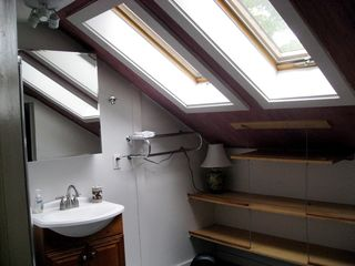 Bridport house photo - Master Bath With Operable Skylights