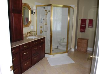 Oconomowoc house photo - The bathroom to the master suite