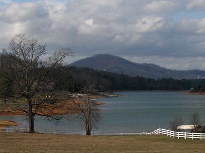 More Lake Chatuge. Hiawassee is surrounded by it, so lakeviews are everywhere.