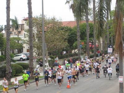 Long Beach studio rental - Annual Long Beach Marathon