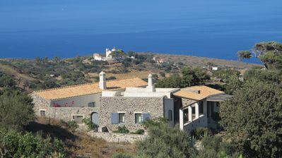 Traditionnal stone house in Kythira