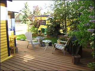 Aspen condo photo - Private Yard with Deck