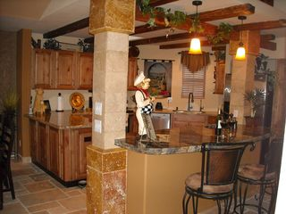 Scottsdale North house photo - Bar & Kitchen Area of Great Room