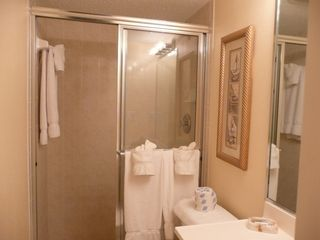 Indian Rocks Beach condo photo - En Suite Master Bathroom, privacy and convenience!
