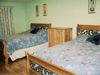 County Mayo house rental - Large Bedroom w/2 Queen Beds