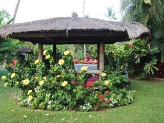Lahaina condo photo - One of the 5 Balinese style cabanas at the resort.