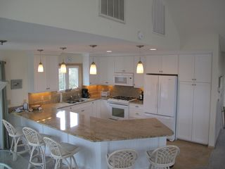 Duck house photo - New Kitchen in 2011! Gas Oven, Granite, Large Refrigerator, Tile