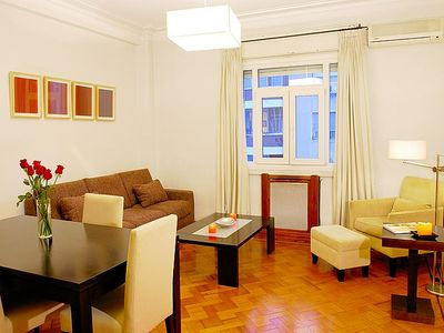 Recoleta apartment rental - Living room with Luxurious and comfortable furniture. Plenty of room to relax