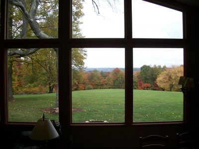 View of the valley from the Living Room