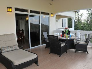 Balcony - Marigot Bay villa vacation rental photo