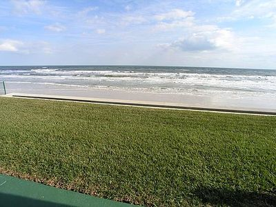 Unobstructed ocean views from your patio! Ground floor, end unit!