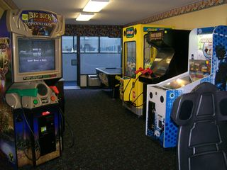 Landmark Resort condo photo - The game room for the kids...big and small.