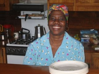 Soufriere house photo - Mary our maid and cook