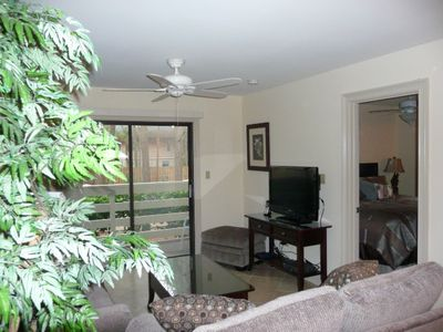 Folly Field villa rental - Enjoy the 37' Flat Screen HDTV woth DVD and WiFi Internet