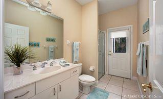 Vacation Homes in Marco Island house photo - Guest Bath One with Pool Access ...