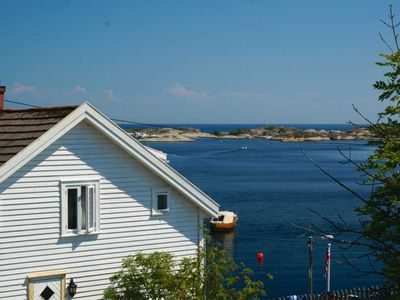 Holiday house for 8 persons with a beautiful view of the fjord