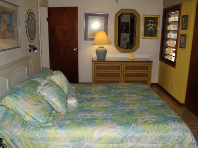 Private and comfortable queen bed in second lower level bedroom.