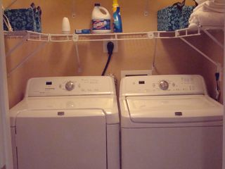 Ocean Reef condo photo - Full size washer and dryer for your convenience