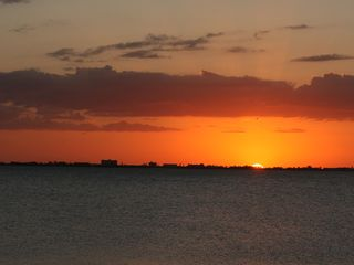 Bradenton house photo - Sunset over Longboat Key.