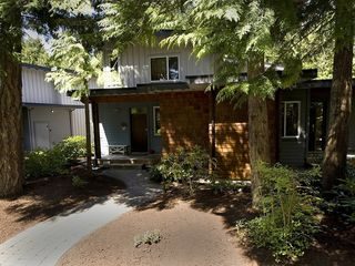 Parksville townhome photo - The front is shady with mature trees and shrubs