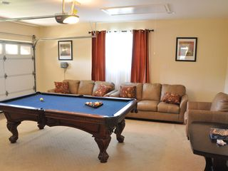 "Anaheim house photo - Game room with pool table, 60"" LED, X-Box Kinect and many other family games"