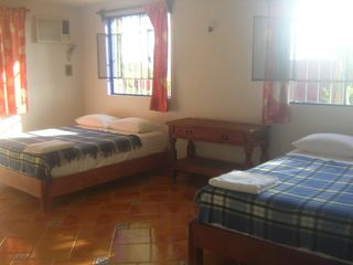 Bacalar house photo - Bedroom 2 with 2 new queen size beds.