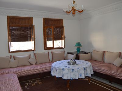 Typical Appt furnished of 100 m2 with 90m2 terrace