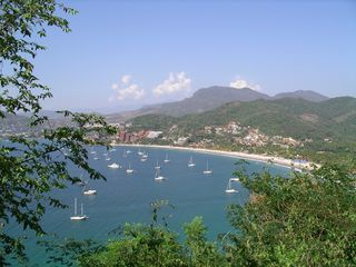 Zihuatanejo condo photo - View of Playa La Ropa from top of the hill!