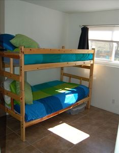 This room now has a day bed with pull out trundle instead of bunks.
