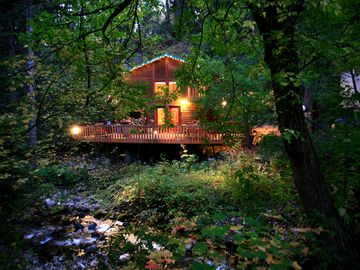 Sundance cabin rental - Enjoy this cabin tucked away stream side at the end of a private lane.