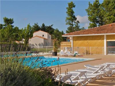 Apartment for 4 people, with swimming pool, in Charente-Maritime