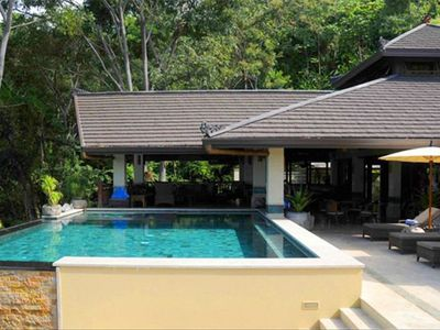 Dominical villa rental - Pool, Lounge & Sunning Terrace