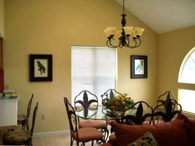 , , ,  and an inviting dining area for your family and friends.