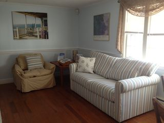 Hyannis - Hyannisport house photo - sleepsofa in living room