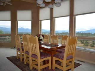 Pagosa Springs house photo - Enjoy dinner with views in all directions
