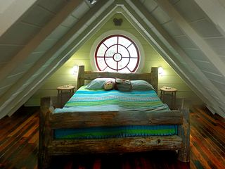 Owls Head apartment photo - Second Floor Loft Bedroom (Queen Size Bed)