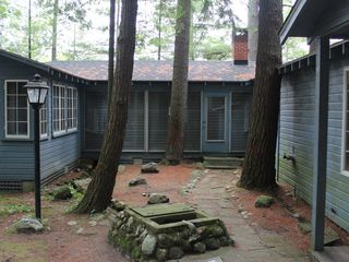 Bellaire / Shanty Creek cottage photo - The Spring, an artisan well that greets each visitor to Lakeview