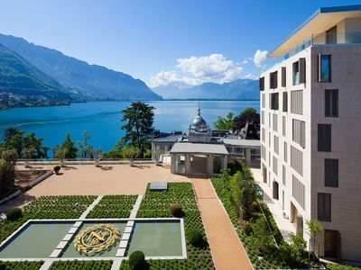 Montreux apartment rental - Vue of the garden's Residences