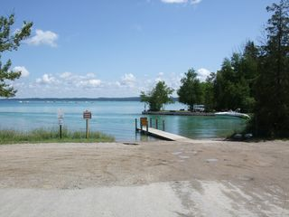 Torch Lake cottage photo - Boat launch on north side of bridge
