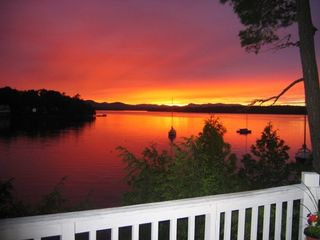 North Ferrisburg house photo - An August sunset at Long Point, Lake Champlain
