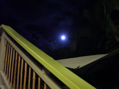 Blue Moon over Coconut Hideaway