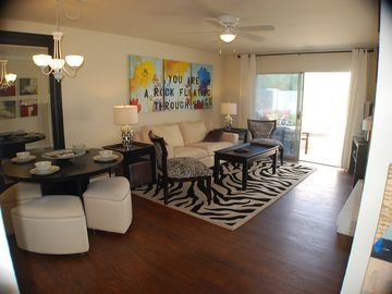 Old Town Scottsdale condo rental - Living Area